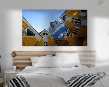 De beroemde kubuswoningen in Rotterdam van R. Khoenie