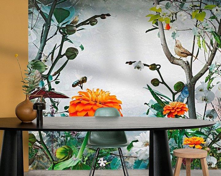 Sfeerimpressie behang: Sweet Summer van Jesper Krijgsman