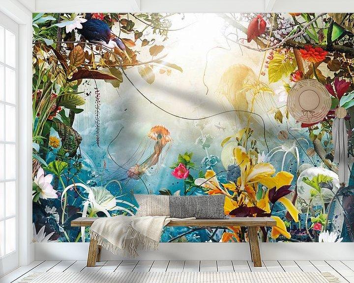 Sfeerimpressie behang: Marine Dream van Jesper Krijgsman