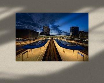 Utrecht Centraal Station von Donker Utrecht