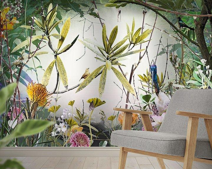 Sfeerimpressie behang: Isles of Wonder (vtwonen) van Jesper Krijgsman