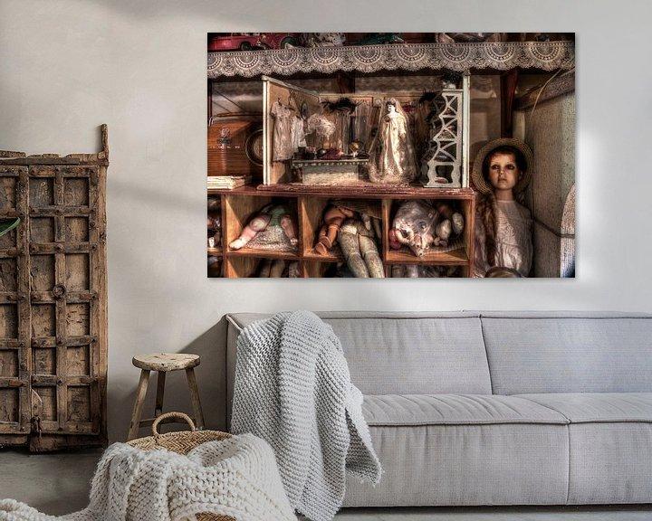 Sfeerimpressie: Poppenwinkel van Hilde van den Berg