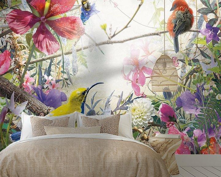 Sfeerimpressie behang: Wonder van Jesper Krijgsman