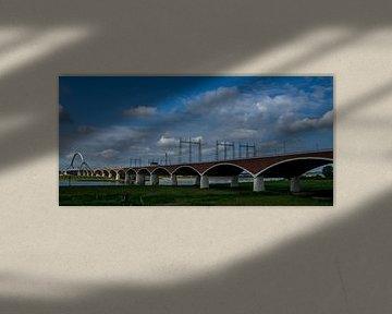 De Oversteek bij Nijmegen  van Waldo Kranenburg