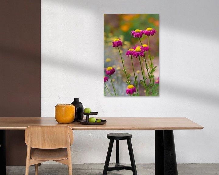 Sfeerimpressie: Vrolijke zomerbloemen van Lily Ploeg