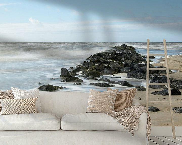 Beispiel fototapete: Ruige Zee. von Nicole van As