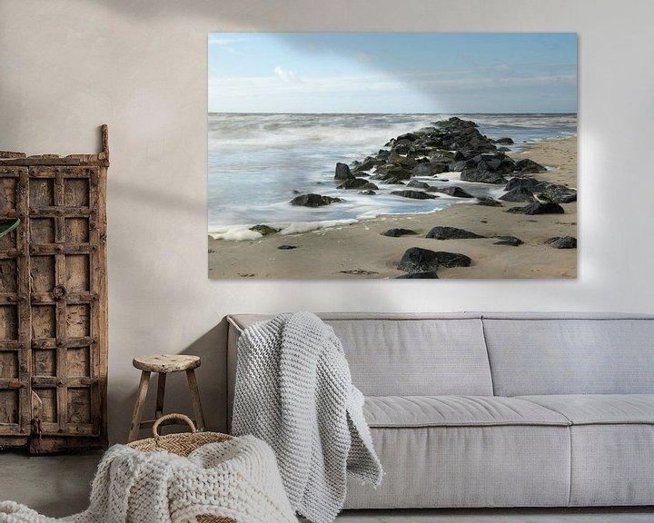 Beispiel: Ruige Zee. von Nicole van As