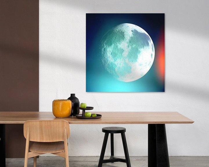 Beispiel: Moon Phase 1 N.4 von Olis-Art