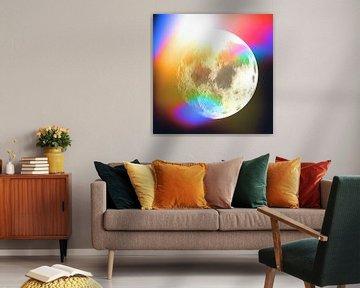 Moon Phase 1 N.2 von Olis-Art