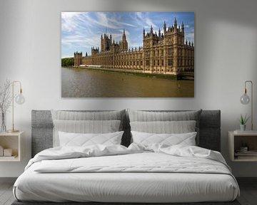 Westminster Parlement in London van Jan Kranendonk