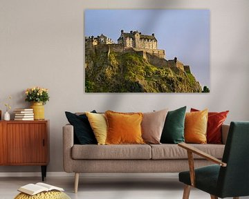 Kasteel van Edinburgh in Schotland von Jan Kranendonk
