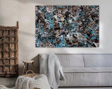 Vatnajökull schilderij van Peter Postmus