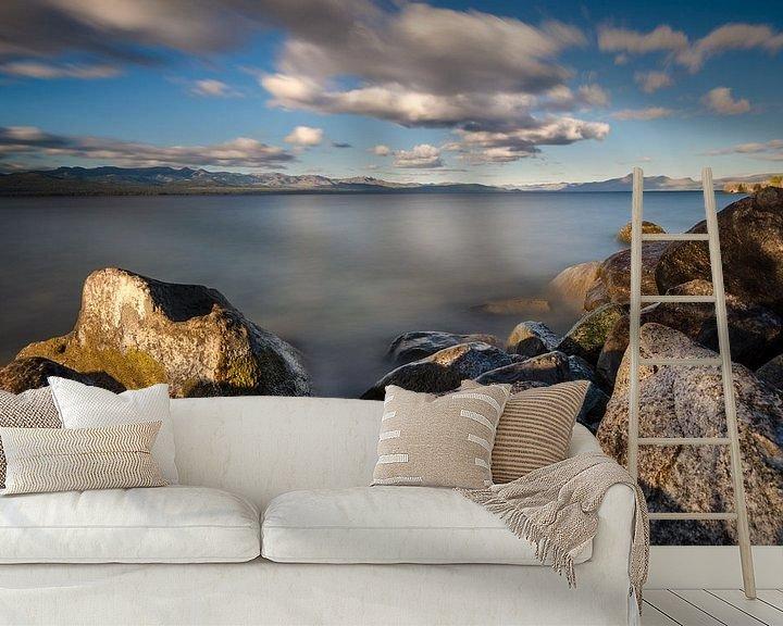 Sfeerimpressie behang: Bariloche van Ronne Vinkx
