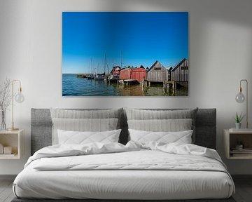 Der Hafen von Althagen am Bodden von Rico Ködder