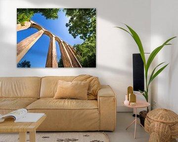Aquaduct in de Franse Morvan von Rijk van de Sandt