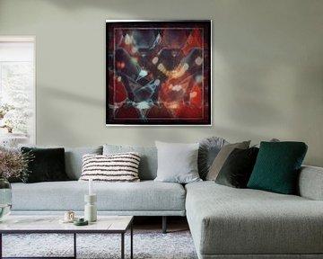 Spiritual Desire 3D in Red von Lovetassie Art