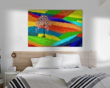 Sommerland-abstrakt