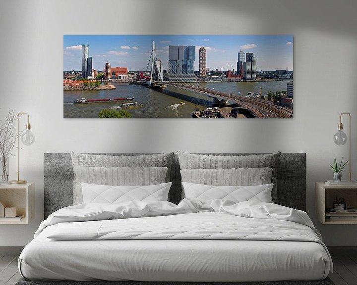 Sfeerimpressie: Panorama Kop van Zuid Rotterdam van Anton de Zeeuw