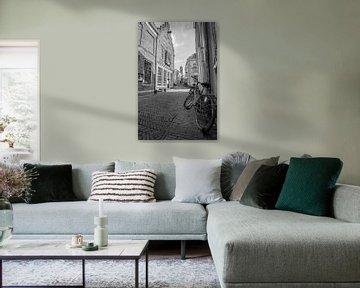 Uitzicht op de Dom vanuit de Slachtstraat in Utrecht von Kaj Hendriks
