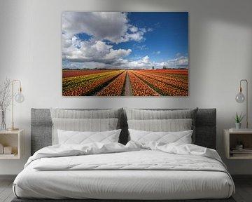 Malerische Landschaft Foto von Maurice de vries