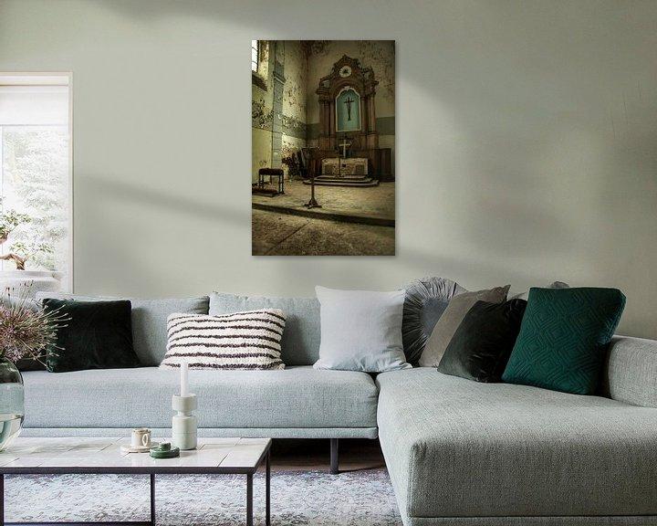 Beispiel: Een verlaten kerk interieur von Melvin Meijer