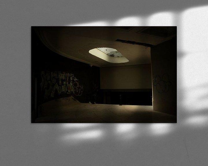 Beispiel: Een verlaten theater  von Melvin Meijer