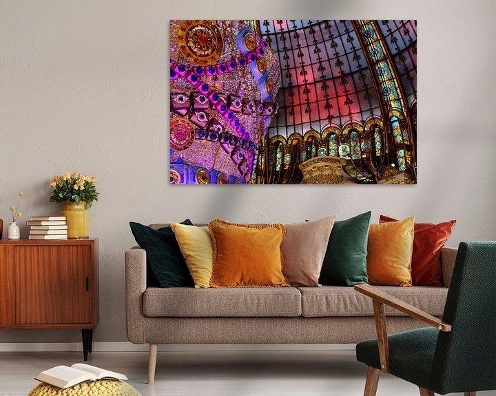 Sfeerimpressie: Galeries Lafayette Dak van Ronne Vinkx