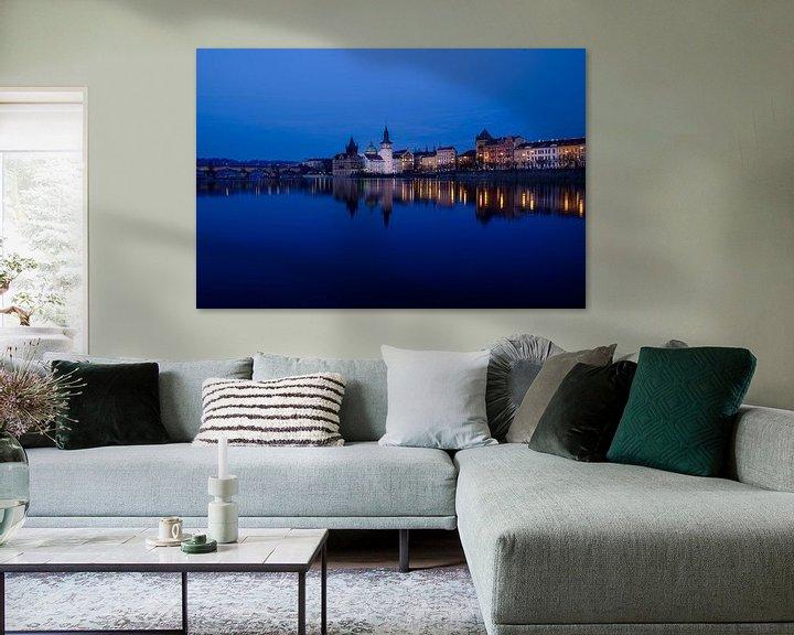 Sfeerimpressie: Avond in Praag van Ronne Vinkx