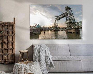 De Hef in Rotterdam von Peter Hooijmeijer
