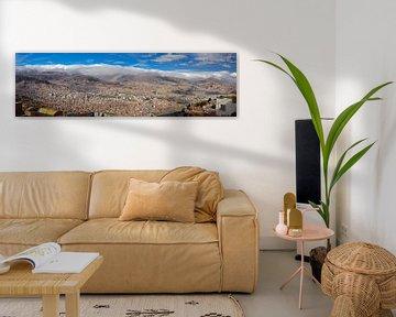 La Paz panorama von Ronne Vinkx