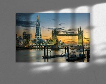Tower Bridge & Spire van Erik Brons