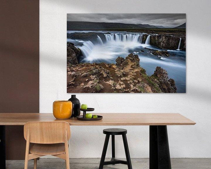 Sfeerimpressie: Goðafoss van Edwin van Wijk