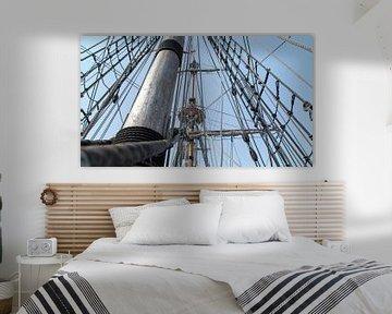 Bruine vloot- Kampen (Nederland) van Dries van Assen