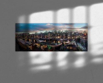 Amsterdam Panorama von Mario Calma
