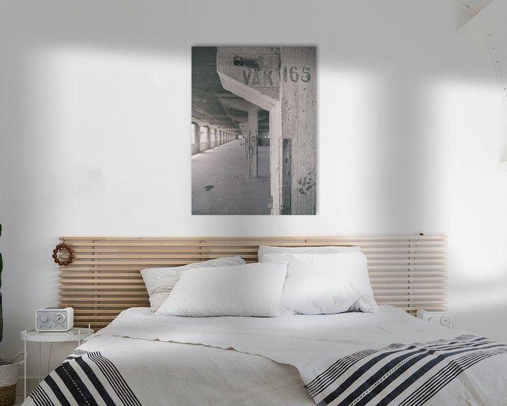 Sfeerimpressie: Verlaten plekken: Sphinx fabriek Maastricht Eiffelgebouw Vak 165 van Olaf Kramer