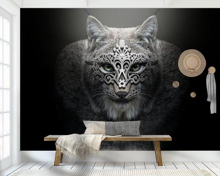 Sfeerimpressie behang: Lynx van Götwin van Bergen