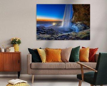 Seljalandsfoss van Sander Peters Fotografie