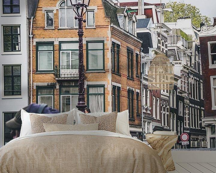 Sfeerimpressie behang: Amsterdam Centrum van Ali Celik