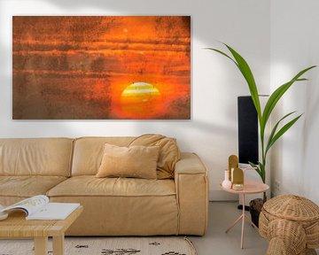 Sunset Fantasy van Els Van den Kerckhove-Verhoeven