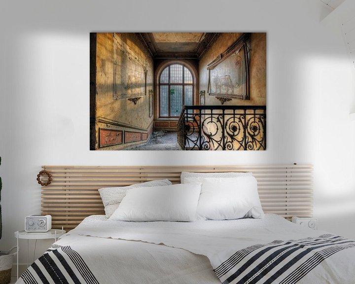 Beispiel: Urbex trappenhuis in kasteel von Henny Reumerman