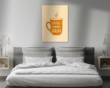Kaffee + nachdenken = Ideen von Rene Hamann