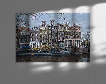 Amsterdamse Prinsengracht von Arthur Wijnen