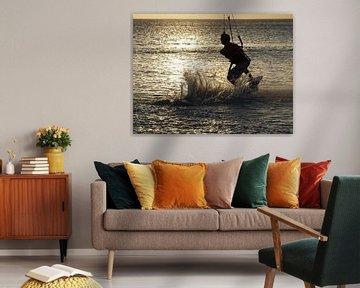 Kite surfer von Ron Steens