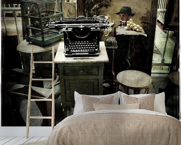 Sfeerimpressie behang: type your dreams van sophie etchart