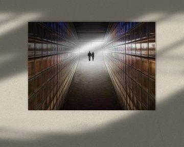 Paare in der Liebe Tunnel in die Zukunft von Marcel van Balken