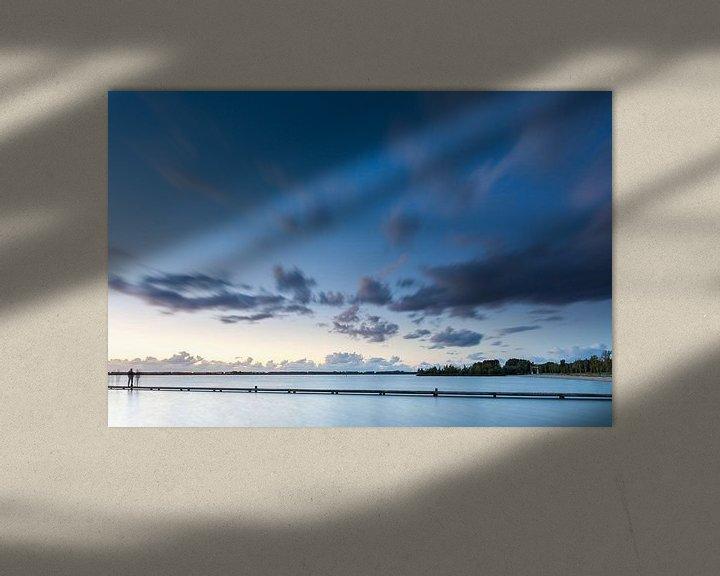 Sfeerimpressie: Spookachtig Schildmeer van Ron Buist