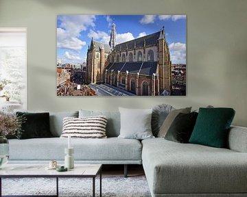 Grote Kerk / St. Bavochurch, Haarlem (2016) van Eric Oudendijk