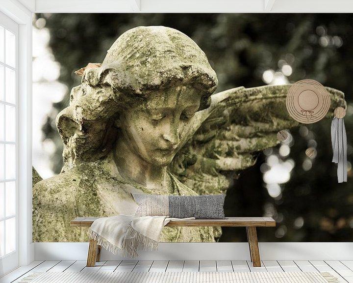 Sfeerimpressie behang: Engel van Jaco Verheul
