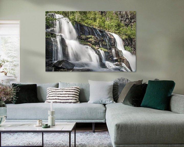 Sfeerimpressie: Waterval van Sander Strijdhorst
