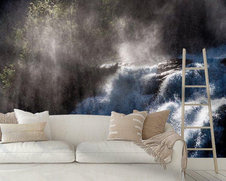 Sfeerimpressie behang: Water- en zonnekracht van Sander Strijdhorst